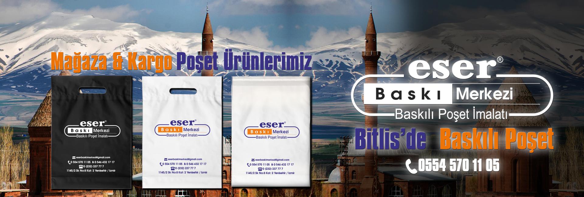 Bitlis Baskılı Poşet